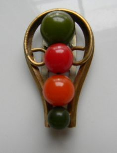 Art Deco BAKELITE Dress Clip