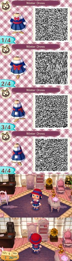 Animal Crossing: New Leaf QR code. Animal Crossing: New Leaf QR code. Qr Code Animal Crossing, Animal Crossing Qr Codes Clothes, Lego Pokemon, Pokemon Sun, Post Animal, My Animal, Totoro Ghibli, Kingdom Hearts, Acnl Paths