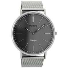 OOZOO Vintage Grey Watch