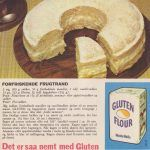 Forfriskende frugtrand Retro Food, Retro Recipes, Cakes And More, Camembert Cheese, Food And Drink, Gluten, Sweets, Memories, Sweet Pastries