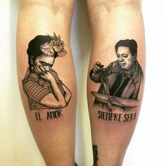 Frida Kahlo is an inspiration to women, and some people have chosen to immortalize her via tattoos. Check out some badass Frida Kahlo tattoos (and maybe get some tattoo inspiration along the way). Hand Tattoos, Two Hands Tattoo, Finger Tattoos, Body Art Tattoos, Couple Tattoos Love, Love Tattoos, New Tattoos, Frida Tattoo, Frida Kahlo Tattoos