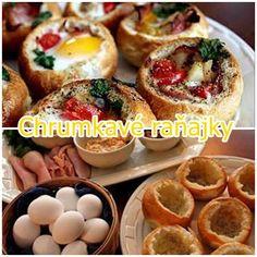 Crunchy breakfast baked stuffed Kaiser Roll http://veu.sk/index.php/chutne-recepty/1775-chrumkave-ranajky-zapekana-plnena-zemla.html #crunchy #breakfast #baked #stuffed #kaiser #roll