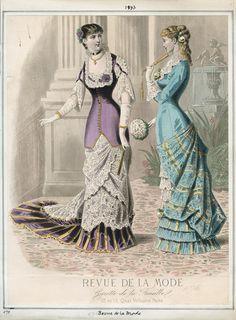 Casey Fashion Plates Detail | Los Angeles Public Library Revue de la Mode Thursday, January 1, 1880