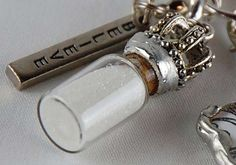 I love this Corked Vial from Tim Holtz.