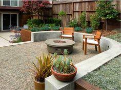 Jardines pequeños con encanto - Las nuevas tendencias para 2021 - Minimalist Landscape, Modern Landscape Design, Modern Garden Design, Contemporary Landscape, Modern Design, Landscaping With Rocks, Outdoor Landscaping, Front Yard Landscaping, Landscaping Tips