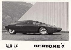 1978 Bertone 'Sibilo' concept built on a Lancia Stratos