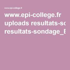 www.epi-college.fr uploads resultats-sondage_EPI.pdf