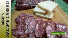 RECETA de SALAME CASERO. Como hacer salame de cerdo en casa.