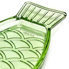 Visschotel S Fish&Fish transparant groen - Serax www.livingdesign.be