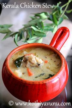 Kerala Chicken Stew - Nadan Chicken Stew