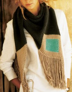 Halona Scarf by Wool and the Gang