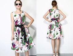 ramie_print_dress_