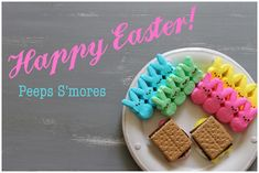 Happy Easter with Peeps S'mores!