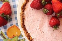 Frozen strawberry margarita pie! i use to make this ALL the time!!!!!