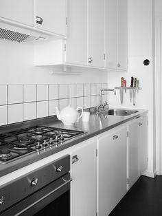 Måttbyggd kök i originalstil, Möllansverkstäder Malmö / oprindelige stil køkken