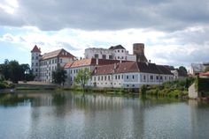 Telč Village in Czech Republic