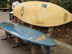 surfboard bench   Flickr - Photo Sharing!