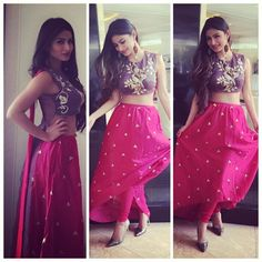 Pic Alert: Mouni Roy in Payal Singhal for a day event!
