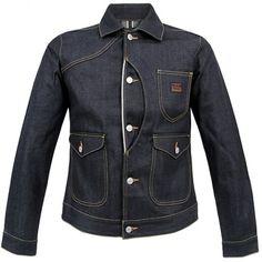 Evisu Heritage 3 Pocket Denim Jacket