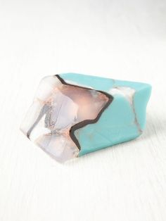 Soap Rocks Crystal Soap at Free People Clothing Boutique Crystals Minerals, Rocks And Minerals, Crystals And Gemstones, Stones And Crystals, Diy Savon, Rocks And Gems, Soap Recipes, Home Made Soap, Handmade Soaps