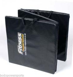 Tri-Fold Folding Mat Exercise Gym Mat Pilates Rehab Yoga Heavy vinyl/ poly foam | eBay