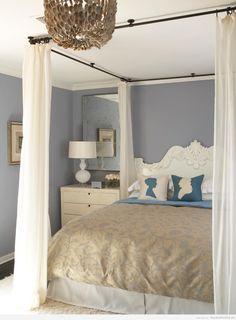 Ideas decorar dormitorio matrimonio, distintos estilos
