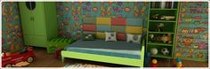 Here Are the Trends to Watch in Children's Furniture Eugene Chrinian - DIY and crafts Interior Design Living Room, Modern Interior, Childrens Bedroom Wallpaper, Loft Design, Design Room, Cool Rooms, Kids Room, Child Room, Toddler Bed