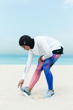 "Nike just announced it is creating its first athletic-wear hijab, called the ""Nike Pro Hijab."" The company has been working on the product for more than a year, meeting with top-flight athletes like United Arab Emirates' Amna Al Haddad, Nike+ Run Club Coach Manal Rostom,..."