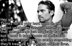 This is so true. There's never a better reason to get a yearbook than to save it for the future.