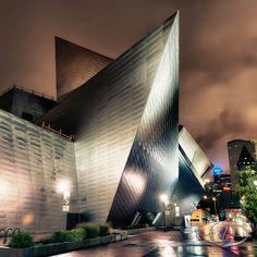 Denver Art Museum on raining morning | Flickr - Photo Sharing!