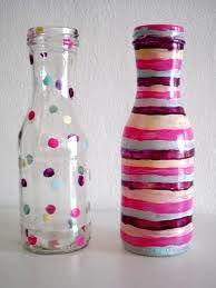 botellas cristal pintadas - Buscar con Google