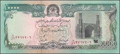 Afeganistão, 10000 Afghanis de 1993, pick#63b