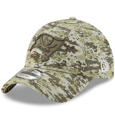8e7f969d6aadf3 Men's Tampa Bay Buccaneers New Era Camo Digi 9TWENTY Adjustable Hat, $24.99