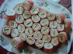 Rychlé párty recepty pro Váš slavnostní stůl,nové nápady a rady od Vás My Favorite Food, Favorite Recipes, I Love Food, Finger Foods, Party Time, Catering, Sushi, Lunch Box, Brunch