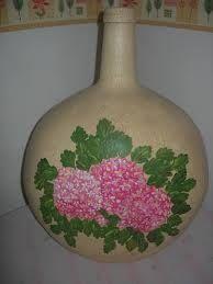 Resultado de imagen de garrafas pintadas a mano