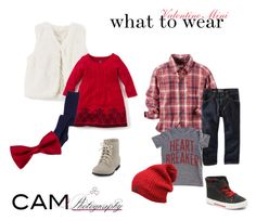 """""""Valentine Mini"""" by camphotographyllc on Polyvore featuring Carter's"""