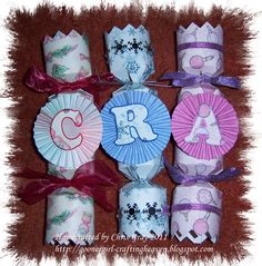 My Crafting Heaven: Crackers......