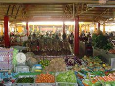 Market place in Suva, Fiji