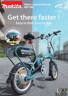 Makita 18v li-ion asisted bicycle bby180 (bare unit ...