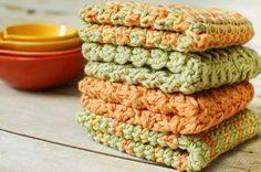 Textured Dishcloth Crochet Pattern « The Yarn Box