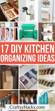 Kitchen Organization Pantry, Household Organization, Kitchen Storage, Storage Organization, Storage Ideas, Organizing Clutter, Planning And Organizing, Organizing Your Home, Organizing Ideas