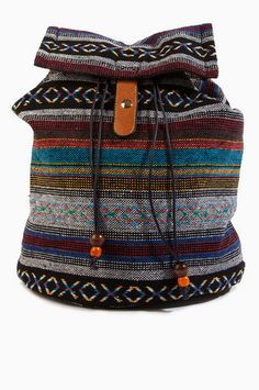 Accents Do I Ever Cross Your Backpack $64 at www.tobi.com