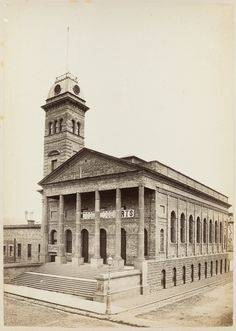 Town Hall in 1877 Melbourne Victoria, Victoria Australia, Brunswick Street, Melbourne Suburbs, Australian Continent, Broken Promises, It's Wonderful, Historic Houses, Largest Countries