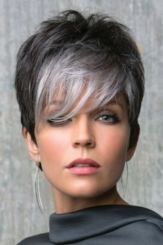 Today we have the most stylish 86 Cute Short Pixie Haircuts. We claim that you have never seen such elegant and eye-catching short hairstyles before. Pixie haircut, of course, offers a lot of options for the hair of the ladies'… Continue Reading → Short Silver Hair, Short Grey Hair, Short Hair Cuts, Gray Hair, Short Blonde, Pixie Cuts, White Hair, Undercut Hairstyles, Pixie Hairstyles