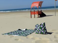African beach bag an towel set by kuutungas on Etsy