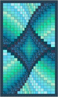 Bargello Quilt Patterns, Bargello Quilts, Beginner Quilt Patterns, Batik Quilts, Modern Quilt Patterns, Quilt Patterns Free, Quilting Tutorials, Quilting Projects, Quilting Designs