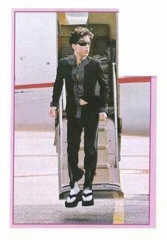 Prince I love your platform flip flops