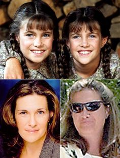 little house on the prairie cast then and now | ... and Sidney Greenbush as Carrie Ingalls in Little House on the Prairie