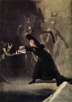 """Francisco de Goya y Lucientes, """"El Hechizado Hombre"""""""