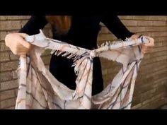 Amazing ways to tie your sarong - YouTube